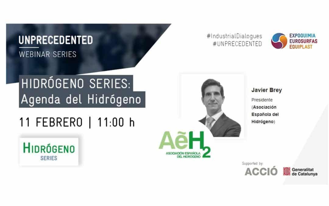 """La AeH2 participa en la jornada """"Hidrógeno Series: Agenda del Hidrógeno"""""""