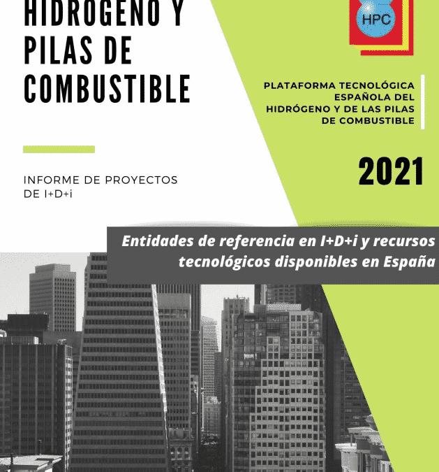 La PTE HPC publica el nuevo Informe de Proyectos de I+D+i del sector del hidrógeno y las pilas de combustible