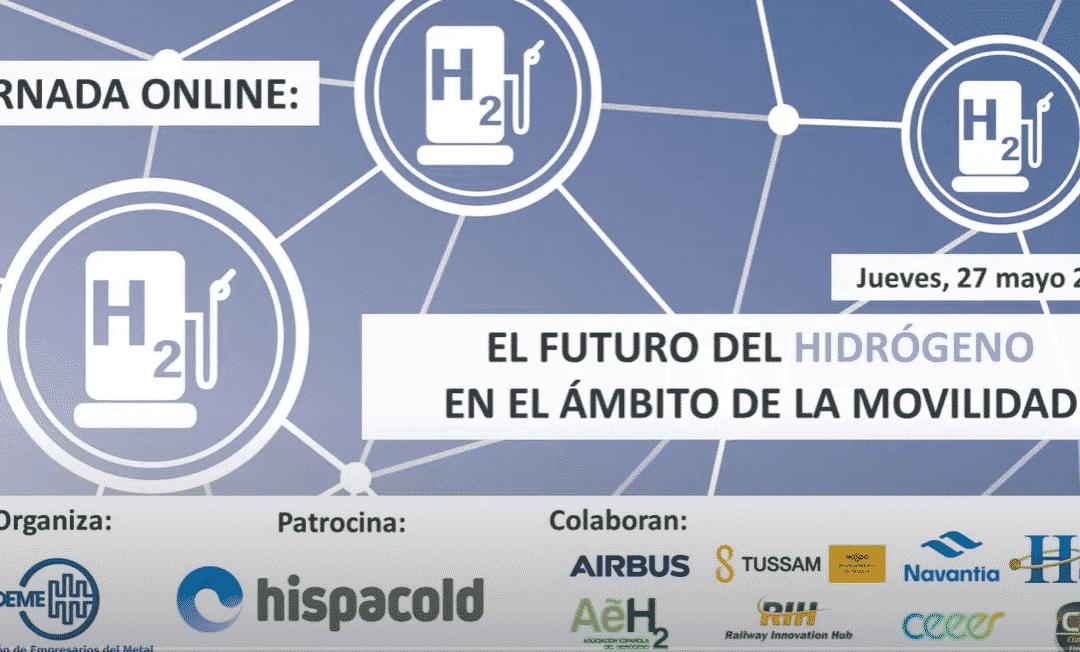 """Participación de la AeH2 en la Jornada FEDEME """"EL FUTURO DEL HIDRÓGENO EN EL ÁMBITO DE LA MOVILIDAD"""""""