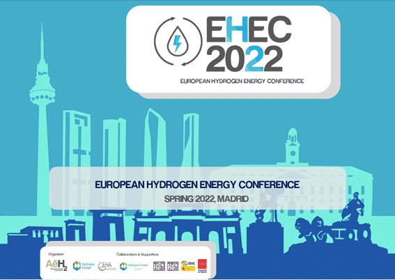 """""""The European Hydrogen Energy Conference (EHEC)"""" se celebrará en primavera de 2022"""
